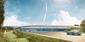 Diese neue Brücke ist die Zier der Landesgartenschau 2018 in Lahr. Foto: Stadt Lahr