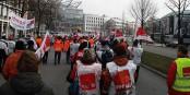 Wilde Warnstreiks in Deutschland, sauber organisierte Streikwellen in Frankreich - irgendwie steht alles auf dem Kopf... Foto: Wolf-Dieter / Wikimedia Commons / CC-BY-SA 3.0