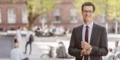 Martin Horn (33 ans, SE) et le nouveau maire de la ville de Freiburg - une sensation ! Foto: www.martin-horn.de