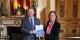 """Sylvain Waserman übergibt Nathalie Loiseau den Bericht, der die Grundlage für """"Elysee 2"""" darstellt. Foto: Eurojournalist(e) / CC-BY-SA 4.0int"""