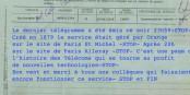 Mit diesem letzten Telegramm endete ein Dienst, der 139 Jahre lang wichtige Informationen von A nach B brachte. Foto: privat
