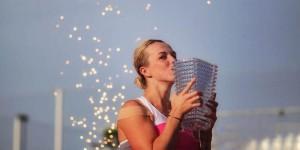 Anastasia Pavlyuchenkova hat das WTA-Turnier in Strasbourg gewonnen. Foto: IS 2018