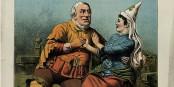Une femme irlandaise repoussant son séducteur Foto: Wellcome / Wikimédia Commons / CC-BY-SA 4.0int