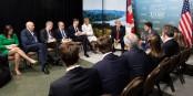 Die 400 Millionen Euro für diesen jämmerlichen G7-Gipfel hätte man auch besser investieren können... Foto: Shealah Craighead / Wikimedia Commons / PD