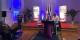 """Le président de la CCI Grand Est Gilbert Stimpflin a ouvert les """"consultations citoyennes"""" pour le pilier Economie hier à la CCI de Mulhouse. Foto: Perrine Chaffard"""