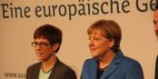 Angela Merkel et son successeur, Annegret Kramp-Karrenbauer. Foto: Eurojournalist.eu / CC-BY-SA 4.0int