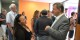 """La présidente de l'association """"Aide Entreprise"""" Brigitte Vitale avec le vice-président de l'Assemblée Nationale Sylvain Waserman. Foto: Eurojournalist.eu / CC-BY-SA 4.0int"""