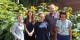 V. Verin (Goethe-Institut), Estelle Chrétien, Julie Luzior, J. Jolas (FEFA) et Camille Fischer. Foto: Eurojournalist(e) / CC-BY-SA 4.0int