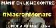"""Mit dieser Graphik lud """"La France Insoumise"""" ihre Anhänger zu einer Online-Partoffel-Demo ein... Foto: lafranceinsoumise.fr"""