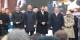 """Orban et Duda avec de joyeux camarades à la commémoration de la """" Révolution """" de 1956 Foto: Elekes Andor / Wikimédia Commons / CC-BY-SA 4.0int"""