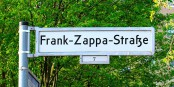 La rue Frank Zappa à Berlin Foto: Ich /Wikimédia Commons / CC-BY-SA 4.0Int