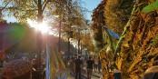 La Manif UNTEILBAR samedi à Berlin, pour une société ouverte, unie et solidaire Foto: Luc Paquier, Berlin