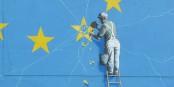 """C'est ainsi que l'artiste Banksy voit le """"Brexit""""... Foto: Immanuel Giel / Wikimedia Commons / CC-BT-SA 4.0int"""