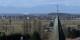Belle vue depuis Ehrenstetten sur les Vosges et - la centrale nucléaire de Fessenheim. En cas d'accident, Freiburg et ses environs cesseront d'exister. Foto: Andreas Schwarzkopf / Wikimedia Commons / CC-BY-SA 3.0