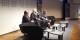 Luiz Martinez-Guillén (EP), Moderator Kai Littmann und die Europaabgeordnete Anne Sander in Colmar. Foto: Frank Rotter