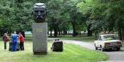 Viktoria Marinova est morte là, à Ruse, sous le regard scandalisé du grand révolutionnaire Stoyanov (XIXe siècle) Foto: Adam Jones / Wikimédia Commons / CC-BY-SA 2.0Gen