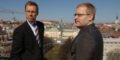 Alexander STUBB et Urmas PAET, député européen estonien, à Tallinn Foto: Estonian Foreign Ministry / Wikimédia Commons / CC-BY-SA 2.0Gen