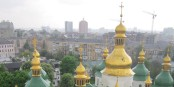 Les toits brumeux de la Cathédrale Sainte-Sophie à Kiev  Foto: Miss ekaterina / Wikimédia Commons / CC-BY-SA 3.0Unp