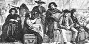Migrants alsaciens, d'après Théophile SCHULER, 1861 / Soutekh67 / Wikimedia Commons / CC-BY-SA 4.0int
