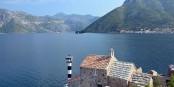 Adriatique : vue sur la Baie de Kotor (Monténégro)  Foto: GZZZ / Wikimédia Commons / CC-BY-SA 4.0Int