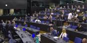 Ja, das waren noch Zeiten, als unser Redakteur Michael Magercord Zugang zum Europaparlament hatte... Foto: Mediacenter Europäisches Parlament