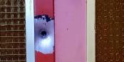 Impact de balle à Neudorf, à l'endroit où Chekatt est tombé  Foto: Eurojournalist(e) - MC / CC-BY-SA 4.0Int