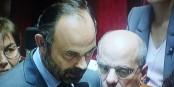 Premierminister Edouard Philippe muss gerade alle Fehler seines Präsidenten alleine ausbaden - bevor er gefeuert werden wird... Foto: ScS EJ