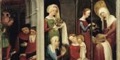 Nativité, d'un Maître inconnu de Strasbourg, vers 1410, Musée de l'Oeuvre Notre Dame  Foto: crdp-strasbourg / Wikimédia Commons / CC-BY-SA/  PD