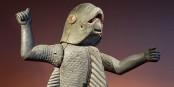 Homme-Requin, une statue du peuple Fon (Bénin)  Foto: Myrabella / Wikimédia Commons / CC-BY-SA 3.0Unp