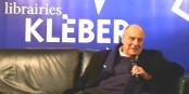 Alexandre Adler, grand conteur de la politique internationale à la Librairie Kléber, le 4 janvier  Foto: MC / Eurojournalist(e) / CC-BY-SA 4.0int