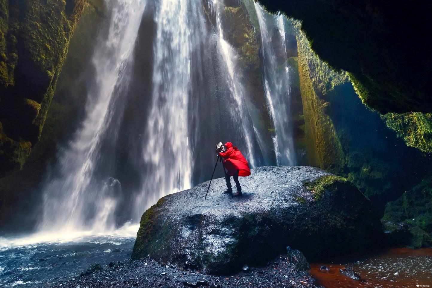 Islande, Cascade Glgufrabui
