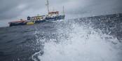 Schweres Wetter vor Malta - Europas Machthabern sind die Menschenleben auf der Sea Watch 3 völlig egal. Foto: http://sea-watch.org