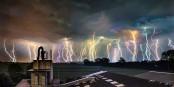 2019 s'annonce avec des orages ? 2019 kündigt sich mit Gewitter an? Foto: (c) Frantisek Zvardon / EJ 2019