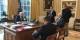 Steve Bannon (à droite) avec Trump, à la Maison Blanche : indépendant, vraiment ?   Foto: Sean Spicer / Wikimédia Commons / CC-BY-SA PD