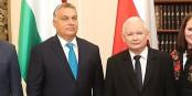 Jaroslav Kaczynski un jour de grande forme avec son camarade Viktor Orban  Foto: Kancelaria Sejmu / Wikimédia Commons / CC-BY-SA 2.0Gen