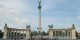 Lieu central où se tiennent toutes les grandes manifestations à Budapest, la Place des Héros  Foto: Mikimami / Wikimédia Commons / CC-BY-SA PD