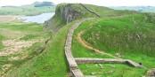 """Eine der beiden neuen EU-Aussengrenzen nach dem Brexit. Die Grenze zwischen England und Schottland gab es als """"Hadrian's Wall"""" schon im 2. Jahrhundert... Foto: I, Michael Hanselmann / Wikimedia Commons / CC-BY-SA 3.0"""