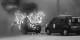 Wer Fahrzeuge der Vigipirate-Flotte angreift, die eingesetzt werden, um die Franzosen vor dem Terrorismus zu schützen, ist selbst ein Terrorist. Foto: ScS EJ