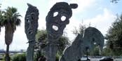 Un monument à la mémoire des victimes des  massacres des foibe, à Rome (près de la station Laurentina)   Foto: Gaux / Wikimédia Commons / CC-BY-SA 4.0Int