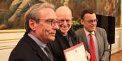 """Roland Ries, Frantisek Zvardon et Bernard Reumaux lors de la remise du """"Grand Prix de l'Académie d'Alsace 2019"""". Foto: Eurojournalist(e) / CC-BY-SA 4.0int"""