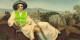 Goethe war Fan von Rousseau, aber ob er eine gelbe Weste an gezogen hätte?... Foto: MM / frei nach Tischbein