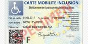 Cette carte devrait rendre certaines choses plus faciles aux personnes à mobilité réduite en déplacement. Foto: handicap.gouv.fr / CEC-ZEV
