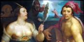Allégorie du Repentir (détail) Cornelis van Haarlem   Foto: Musées de Strasbourg, own work / Wikimédia Commons / CC-BY-SA PD
