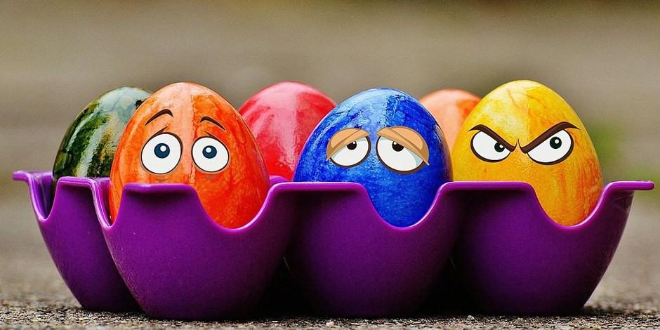 Joyeuses Pâques à tous nos lecteurs et lectrices (et aux autres aussi...)... Foto: Alexas_fotos / Wikimedia Commons / CC0