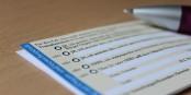 """Pour obtenir une """"carte de donateur d'organes"""", il faut remplir un tel formulaire en Allemagne. Foto: Raphael Markert / Wikimedia Commons / CC-BY-SA 4.0int"""