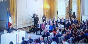 Nach der Regierungserklärung von Emmanuel Macron stellt man sich noch mehr Fragen als vorher... Foto: ScS EJ