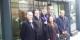 L'équipe AE-OSDEI avant la réunion à l'Assemblée Nationale. Foto: Eurojournalist(e) / CC-BY-SA 4.0int