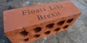 """Der """"Brexit-Ziegelstein"""" - schwimmt so gut wie der Brexit selbst... Foto: Ashley Basil / Wikimedia Commons / CC-BY 2.0"""