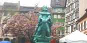 La nouvelle statue de Liebenzeller à Strasbourg Foto: Marc Chaudeur/ Eurojournalist(e)/