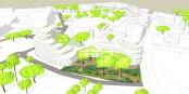 """Voilà le futur """"Jardin d'Apollonia"""", en face des institutions européennes et à l'entrée de la Robertsau - exemplaire ! Foto: Apollonia"""
